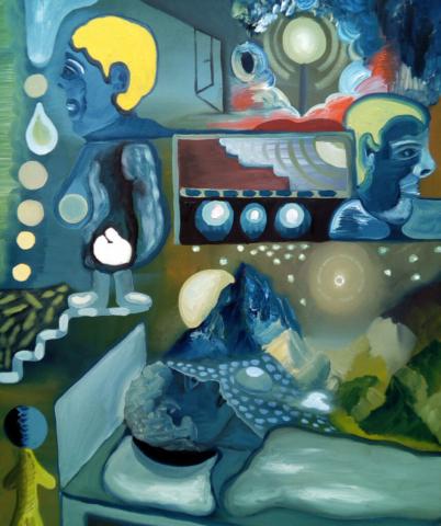 Kunst Ölmalerei Felix Heine